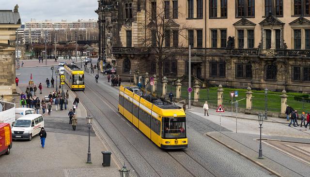 Dresden tramway: NGT6DD # 2535