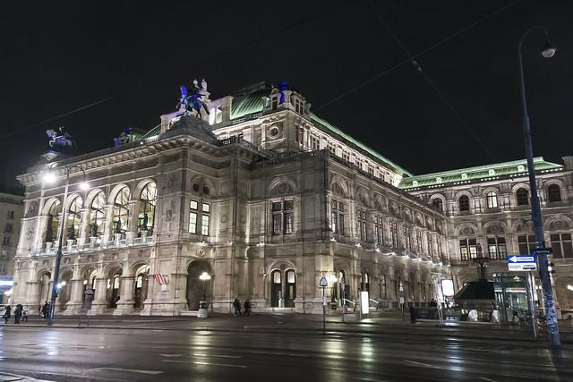Staatsoper. State Opera. Viena