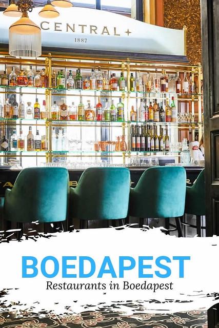Restaurants in Boedapest | Ga lekker uit eten in Boedapest