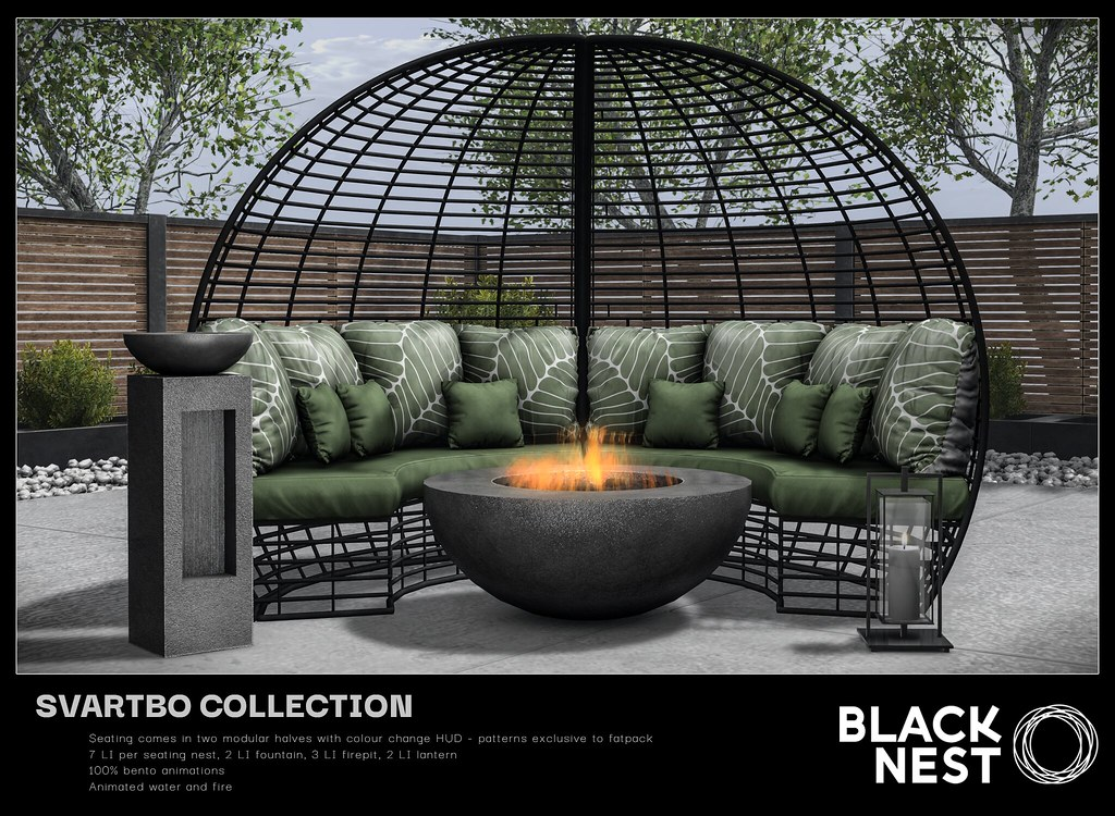 BLACK NEST | Svartbo Collection | Collabor88