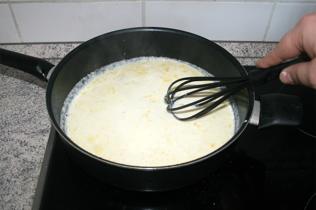 20 - Verrühren & zum kochen bringen / Stir & bring to a boil