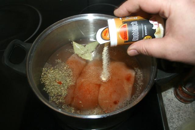 02 - Gewürze hinzufügen / Add seasonings