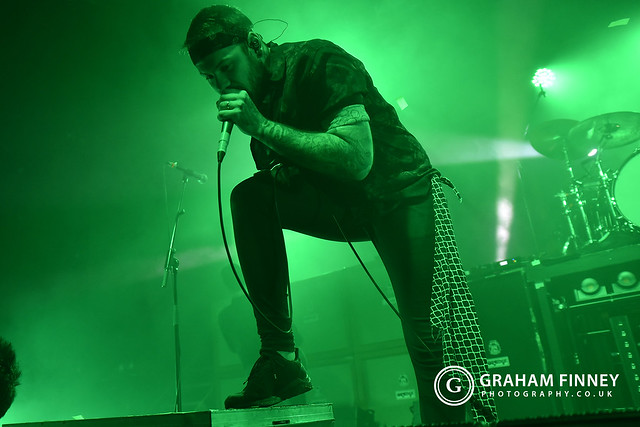 Beartooth (w/ The Amity Afflication, Higher Power) @ Academy 1 (Manchester, UK) on February 28, 2020
