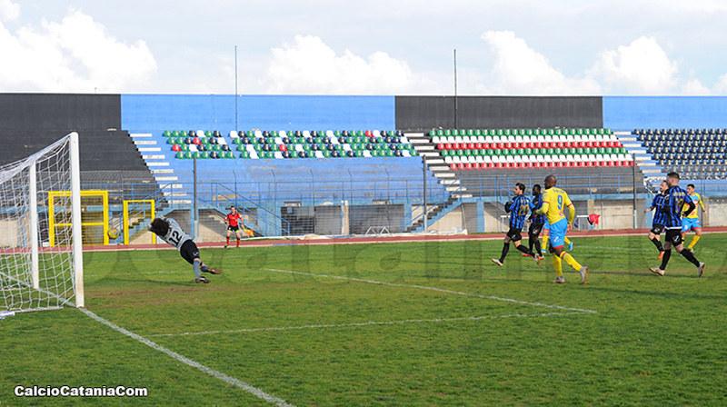 Bisceglie-Catania 0-1: Decide Salandria, terza vittoria di fila per gli etnei