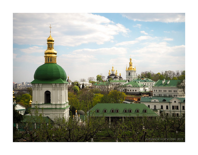 In the Kyiv-Pechersk Lavra