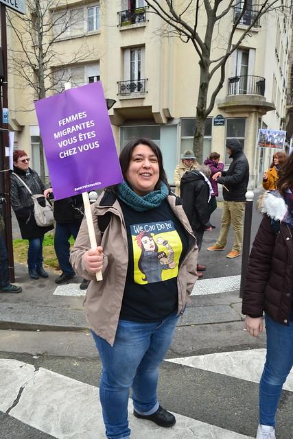 Manif 8 mars 2020 à Paris