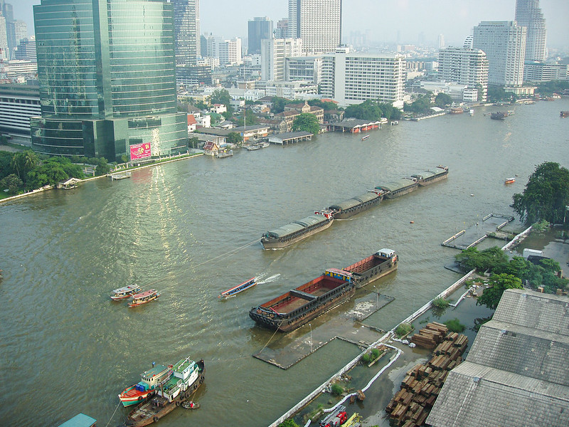 Bangkok Rivert view