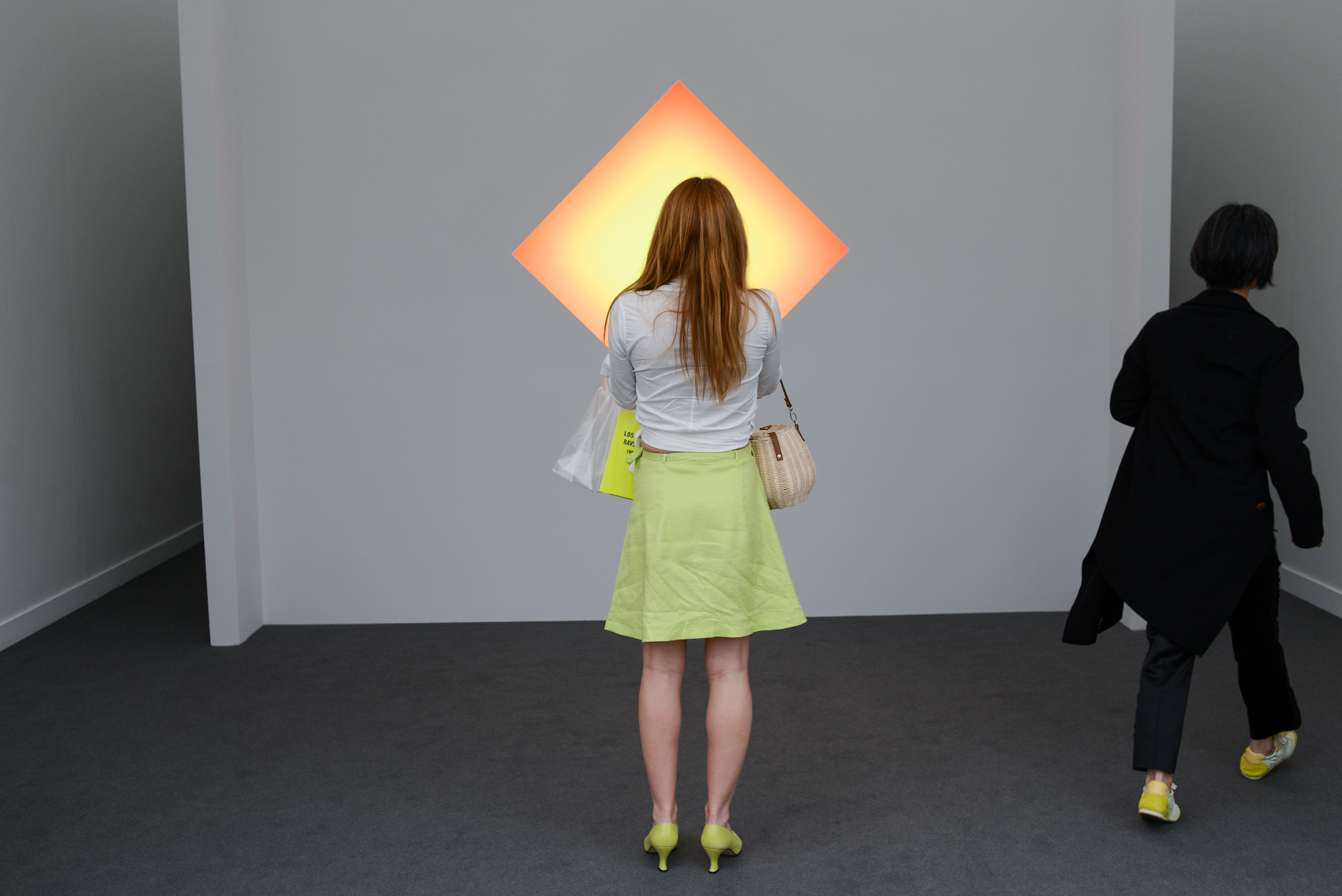 James Turrell at 2020 Frieze Los Angeles