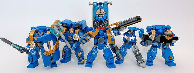 Lego Warhammer 40k Ultramarines
