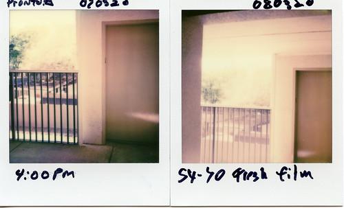 polaroid sx70 instant project impossible film