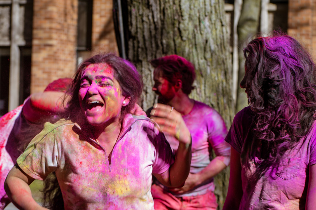 Holi at Massey College 2020