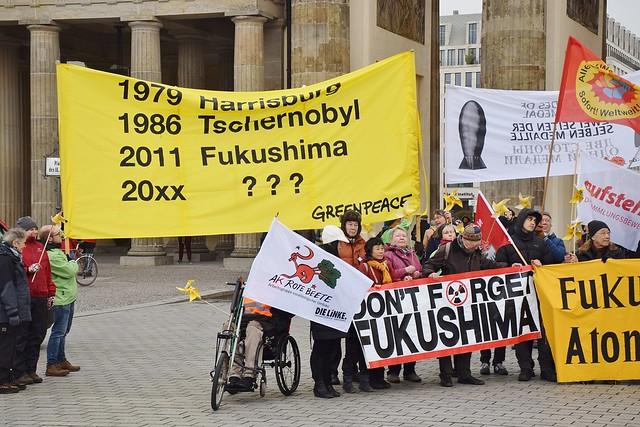 07.03.20: Kazaguruma-Demonstration zum 9. Jahrestag von FUKUSHIMA