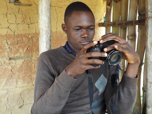 Kaisala inspecting photos taken