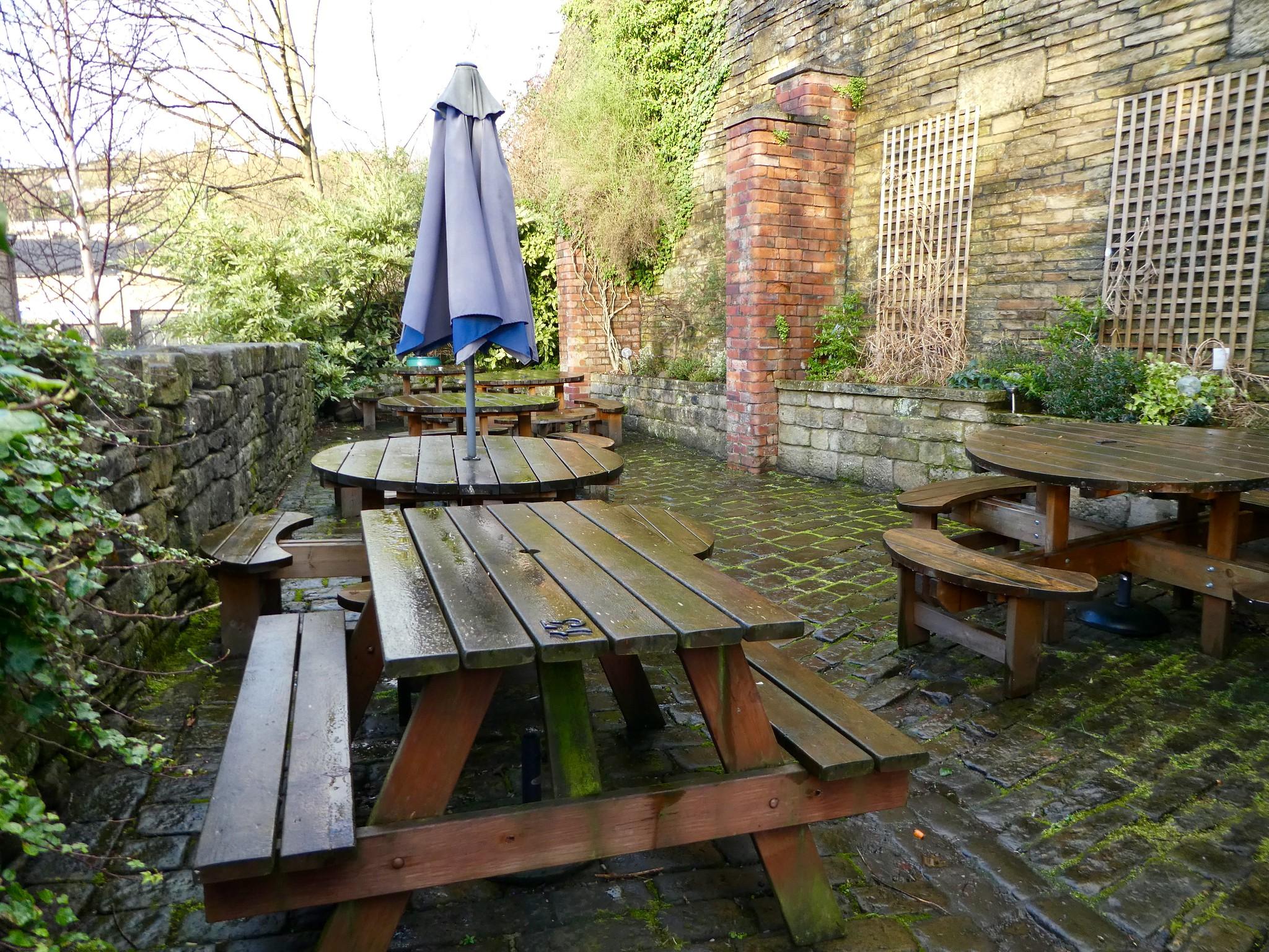 Beer Garden, The White Lion Hotel, Hebden Bridge