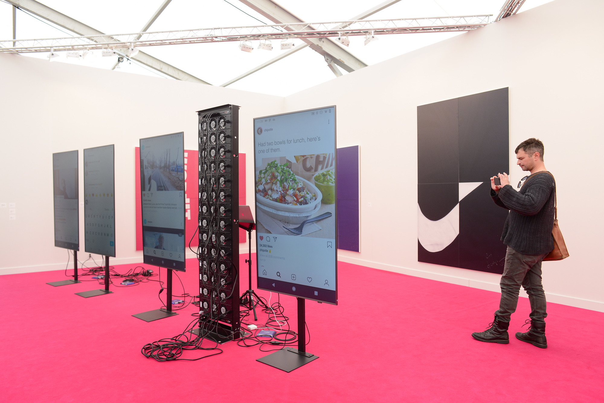 Cory Arcangel at 2020 Frieze Los Angeles