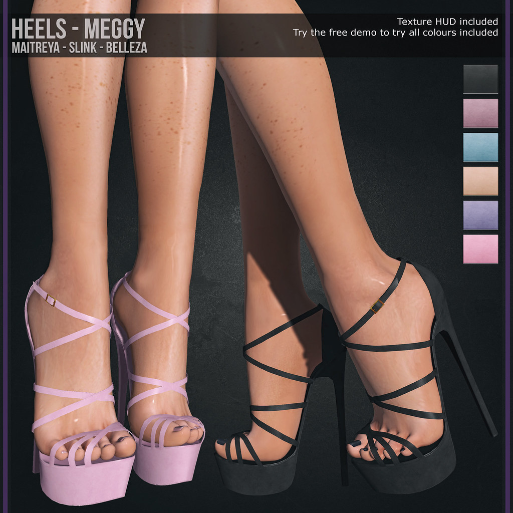 *March Group Gift* Heels – Meggy