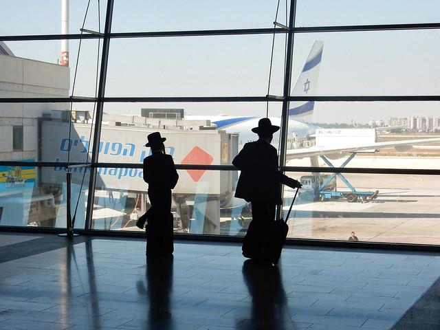 Israel, Tel Aviv - Contemplation before flight - August 2017