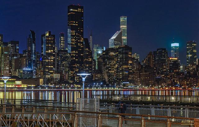 Manhattan View Hunters Point New York