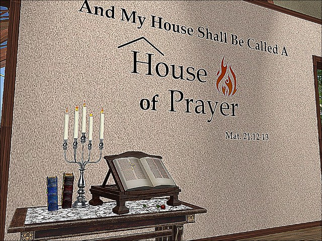 House of Prayer -Let Our Homes Be Homes of Prayer