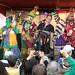 Steve Riley and the Mamou Playboys, Downtown Eunice Mardi Gras Street Dance, Feb. 25, 2020