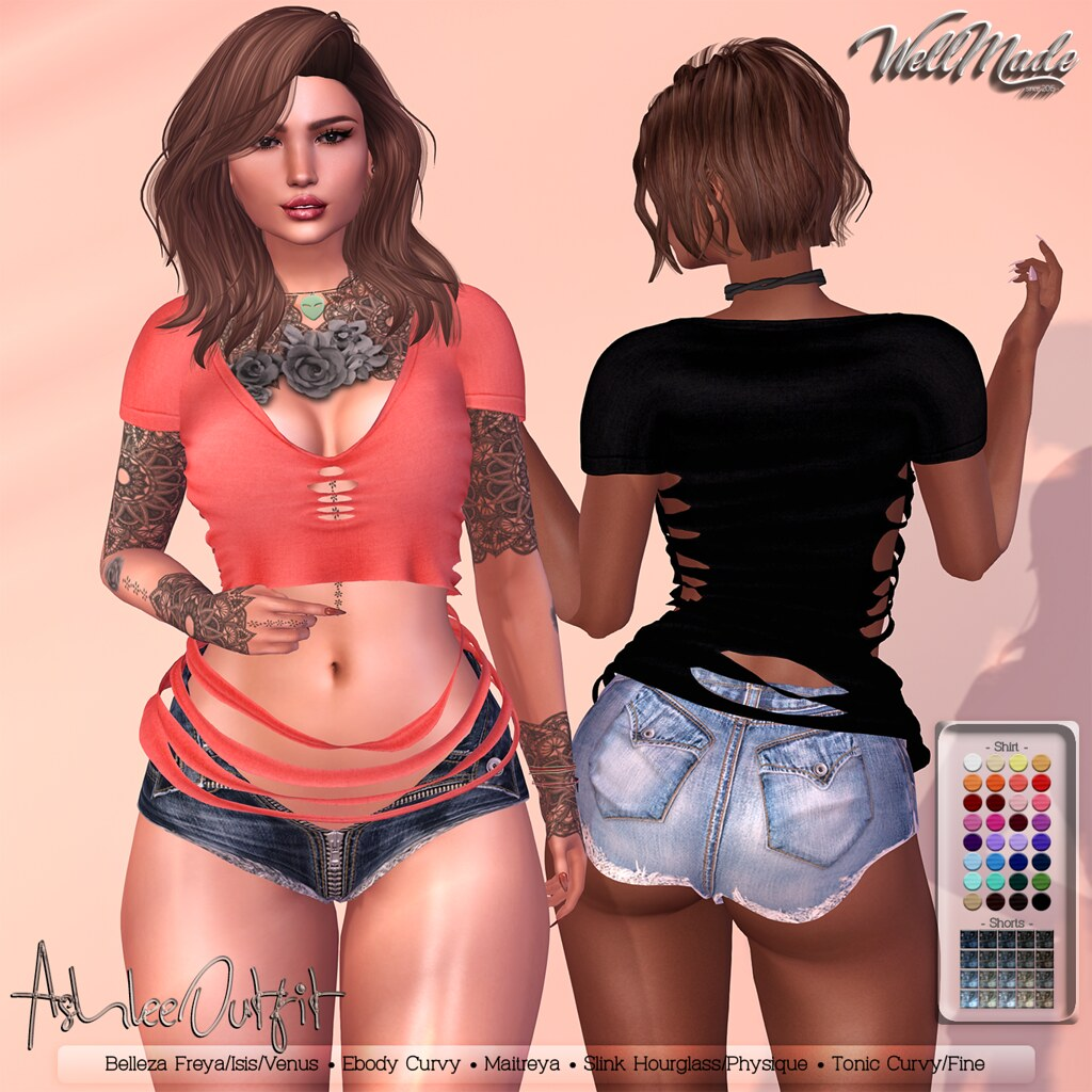 [WellMade] Ashlee Outfit
