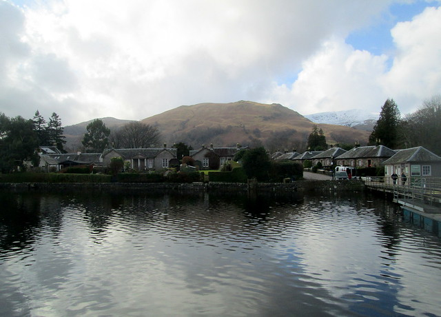 Luss, from Loch Lomond,