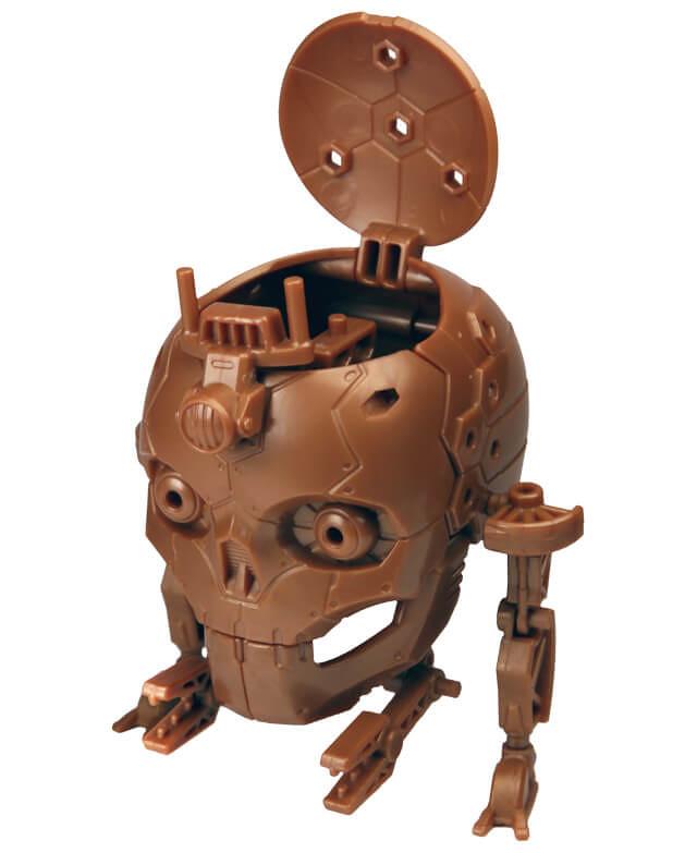 更衝撃的觸手登場!EPOCH 誰俺Darkside系列「多腳機械骷髏頭 2」轉蛋 第二彈 (誰俺ダークサイド ドクロ型多脚機械ドクロヘッド2)全四款