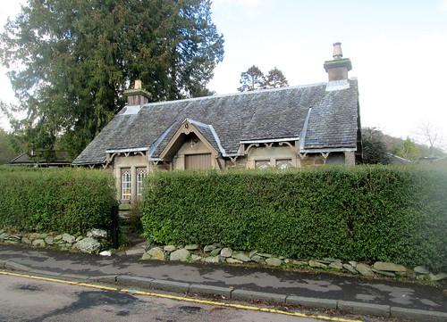 Cat Slide Cottage, Luss, Scotland