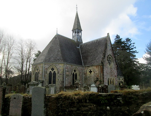 Luss Church, Loch Lomond, Dunbartonshire, Scotland