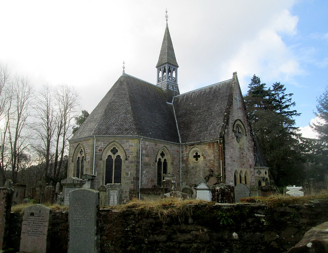 Luss Church, Loch Lomond, Dunbartonshire, Scotland