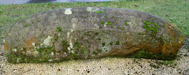 Viking hogback stone, grave, Luss, Loch Lomond