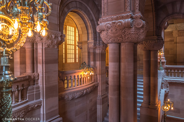 Inside the New York State Capitol