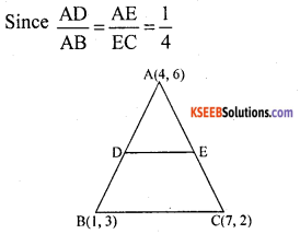 KSEEB Solutions for Class 10 Maths Chapter 7 Coordinate Geometry Ex 7.4 9