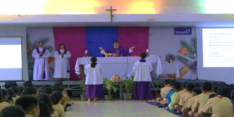 Pendampingan Iman Siswa, Perayaan Misa Rabu Abu