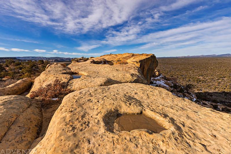 Sandstone Bluffs Point
