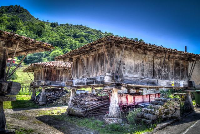 Espinaredo, Asturias. Northern Spain.