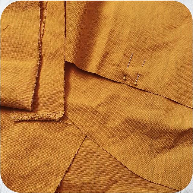 Yellow Tool Bag WIP