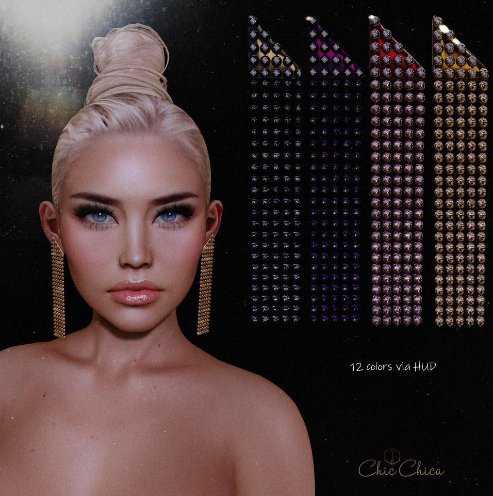 Berrak earrings by ChicChica @ Cosmopolitan