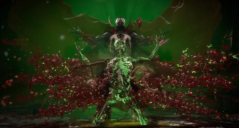 Mortal Kombat 11 - Spawn Fatality