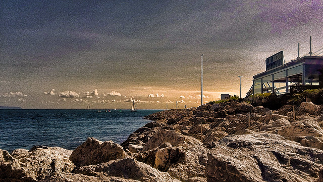 Majorque, vue sur la baie de Palma.