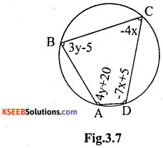 KSEEB Solutions for Class 10 Maths Chapter 3 Pair of Linear Equations in Two Variables Ex 3.7 25