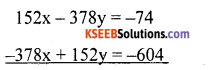 KSEEB Solutions for Class 10 Maths Chapter 3 Pair of Linear Equations in Two Variables Ex 3.7 23