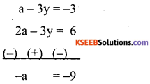 KSEEB Solutions for Class 10 Maths Chapter 3 Pair of Linear Equations in Two Variables Ex 3.7 8