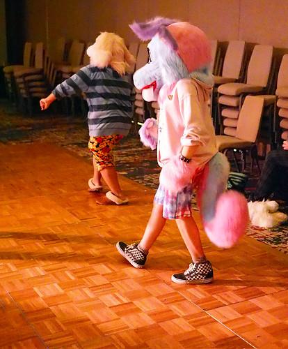 dance dancing anthrohio 2019 fursuit fursuiter furmeet