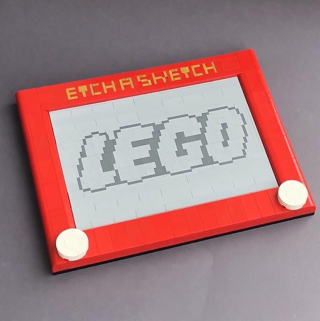 LEGO Etch A Sketch