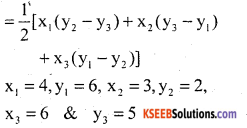 KSEEB Solutions for Class 10 Maths Chapter 7 Coordinate Geometry Ex 7.4 8