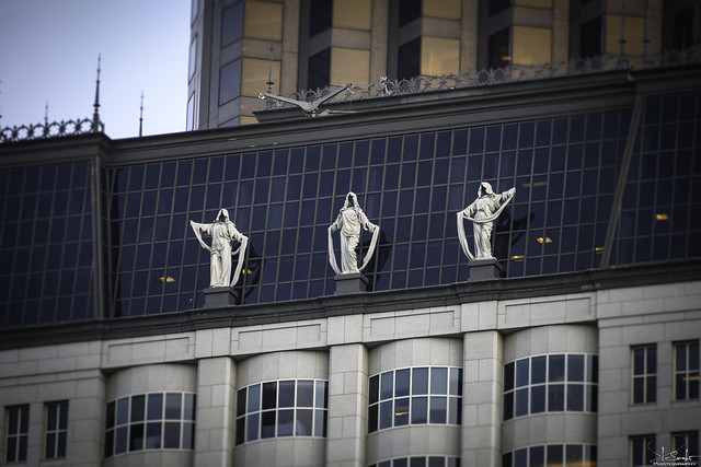 Corporate Goddess Sculptures - San Francisco - California - USA