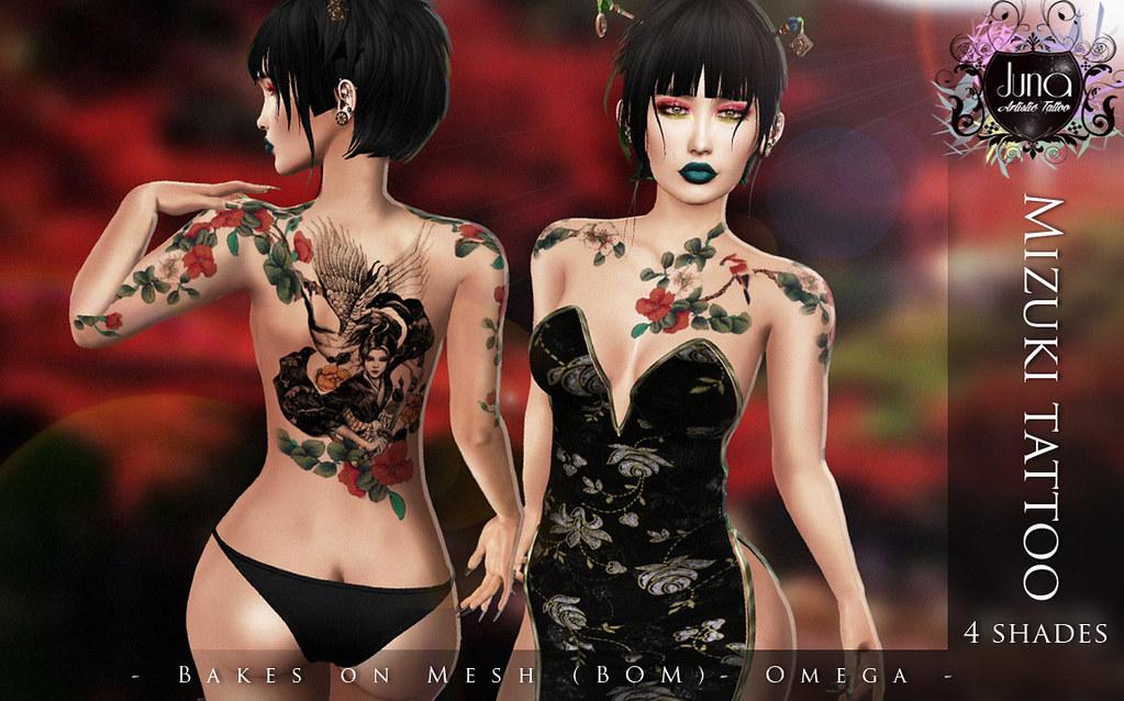 Mizuki tattoo