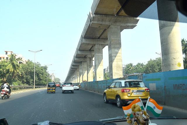 New Mumbai Metro Line, India