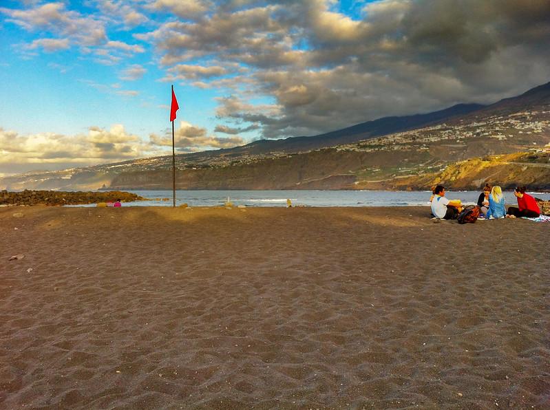 Playa de las America beach
